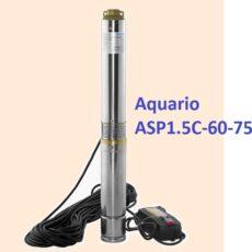 Скважинный насос Aquario ASP1.5C-60-75 погружной купить