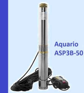 Купить погружной скважинный насос Aquario ASP3B-50 недорого цена какая