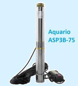 Заказать погружной скважинный насос Aquario ASP3B-75 дешево с установкой