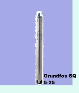 скважинный насос Grundfos SQ 5-25 заказ в Москве