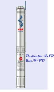 Погружной скважинный насос Pedrollo 4SR 8m/9-PD купить