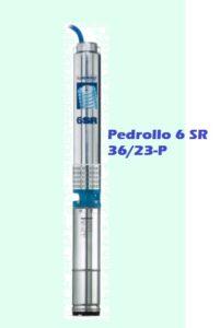 Купить погружной насос Pedrollo 6 SR 36/23-P для скважины