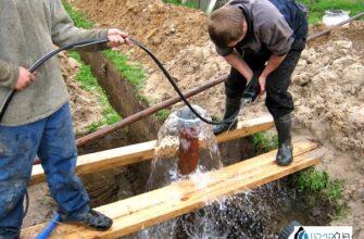 чистка артезианской скважины