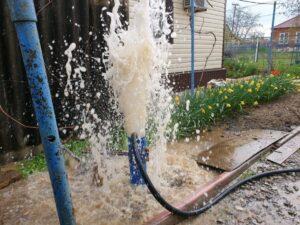 чистка скважины на воду