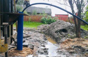 Реанимация скважины на воду